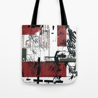 jazz Tote Bags featuring jazz by onoff mode