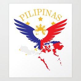 Philippines Filipino Gift Country Manila Vacation Art Print