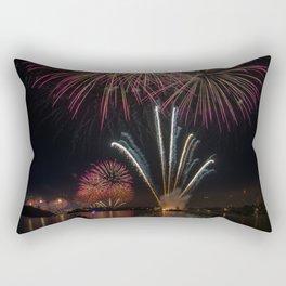 Fireworks on Sydney Harbour Rectangular Pillow