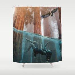 In trouble waters by GEN Z Shower Curtain
