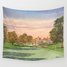 Winged Foot West Golf Course NY Wall Tapestry