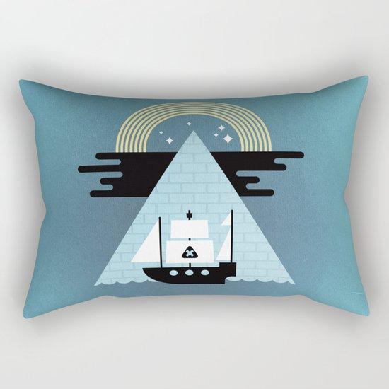 Born to Explore Pt4 Rectangular Pillow