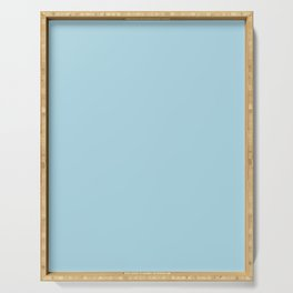 Light Blue - solid color Serving Tray