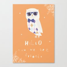 Owl Friend Canvas Print