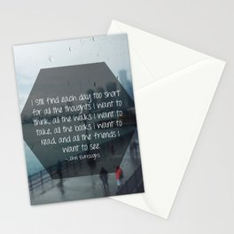 I Still Find Each Day Quote, Digital Print, Gift Stationery Cards