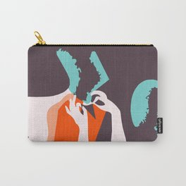 Retro style Art Deco French fashion ad Carry-All Pouch