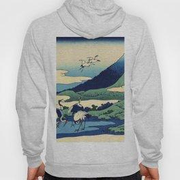 Hokusai -36 views of the Fuji  14 Umezawa in Sagami province Hoody