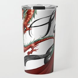 Chinese dragon pure Travel Mug