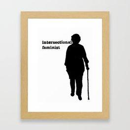 Intersectional Feminist Framed Art Print