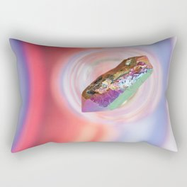 Rainbow Quartz Rectangular Pillow