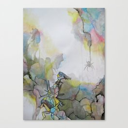 Insect Love Canvas Print