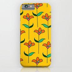 Genevieve - Yellow iPhone 6s Slim Case