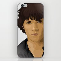 sam winchester iPhone & iPod Skins featuring Sam Winchester by siddick49