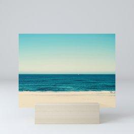 beach feeling Mini Art Print