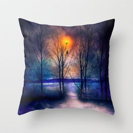 Winter Sonata II Throw Pillow