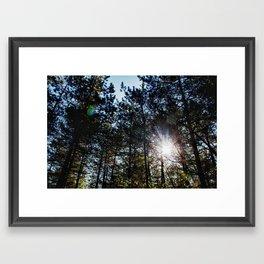 inide Framed Art Print