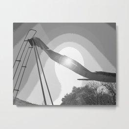 """Ghost Slide 2"" by Murray Bolesta! Metal Print"