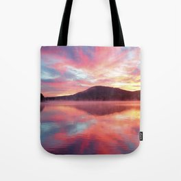 Sunrise: Fire Above and Fire Below Tote Bag