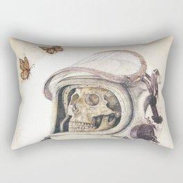 Butterflies in Space Rectangular Pillow