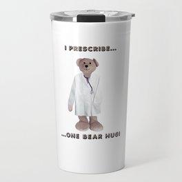 Doctor Teddy Travel Mug