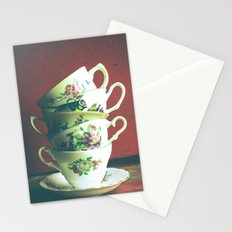 Vintage Tea 2 Stationery Cards