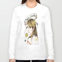 ahs Long Sleeve T-shirts featuring Maggie Esmerelda-AHS by MELCHOMM