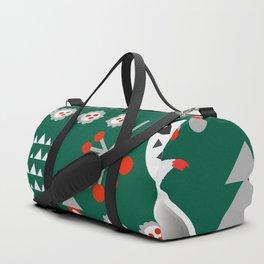 Winter cardinals Duffle Bag