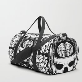 Skull and Brain Duffle Bag