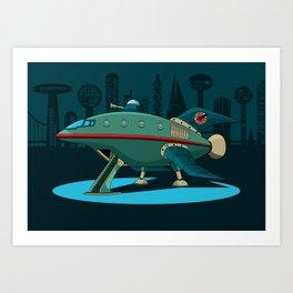 Planet Express Art Print