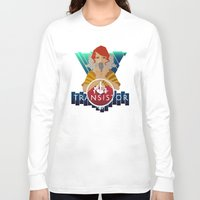 transistor Long Sleeve T-shirts featuring TRANSISTOR by Duke