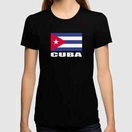 Cuba Flag Caribbean Gift Cubans T-shirt