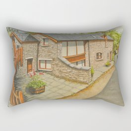Bank Cottage, Talybont-on-Usk Rectangular Pillow