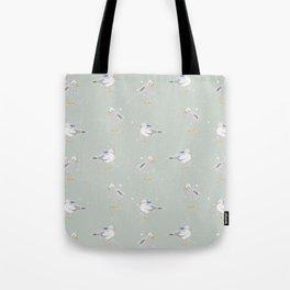 Westcoast Seagulls Sailor Nautical Fun Tote Bag