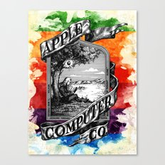 The Apple iVolution Canvas Print