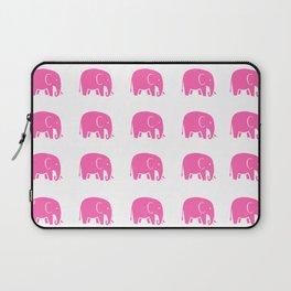 Pink Elephants Laptop Sleeve