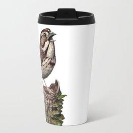 Song Sparrow Travel Mug