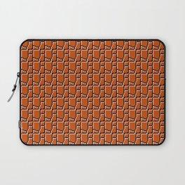 8-bit bricks Laptop Sleeve