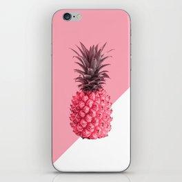 Fresh pink pineapple iPhone Skin