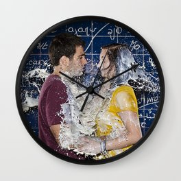Lovers Milking - Le Grand Spectacle du Lait // The Grand Spectacle of the Milking Wall Clock
