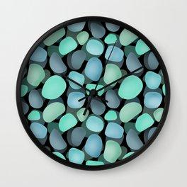 Sea pebbles . No. 1 Wall Clock