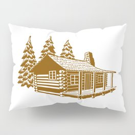 A Cabin in the Woods Pillow Sham