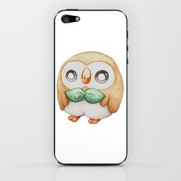 Rowlet - Pocket Monster iPhone Skin