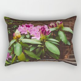 Brooklyn Heights Blooms Rectangular Pillow