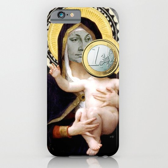 Euronna Madonna Collage iPhone & iPod Case