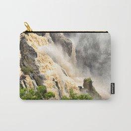 Barron Falls under a summer sky Carry-All Pouch