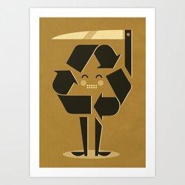 Recycling ... Art Print
