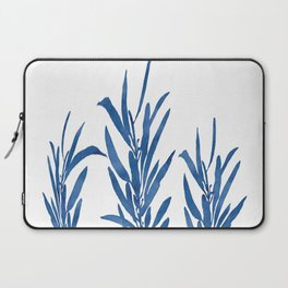 Eucalyptus Branches Blue Laptop Sleeve