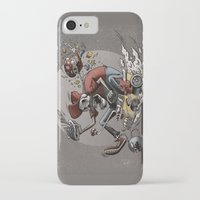 mario kart iPhone & iPod Cases featuring Death Kart by Calakka