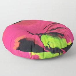 Cosmic Cascade Floor Pillow