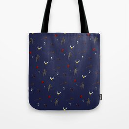 Quidditch Pattern - Ravenclaw Tote Bag